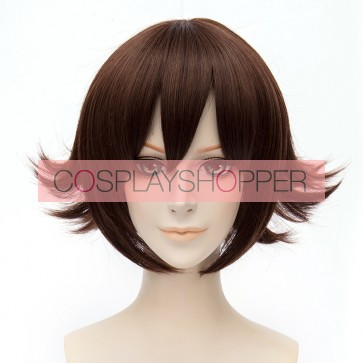 Brown 30cm Kantai Collection Mutsu Cosplay Wig