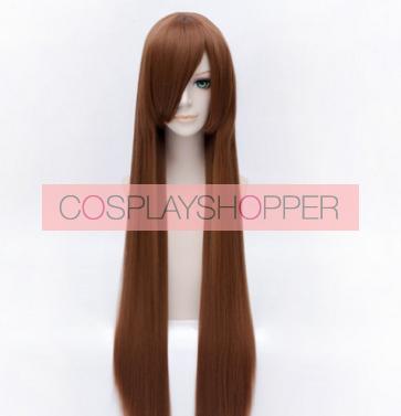 Brown 100cm Vampire Knight Yuki Kuran Cosplay Wig