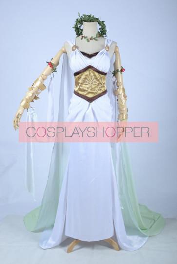 Love Live! Hanayo Koizumi White Dress Cosplay Costume