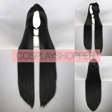 Black 120cm Touken Ranbu Jiroutachi Cosplay Wig
