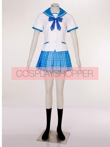 Strike the Blood Yukina Himeragi High School Uniform Cosplay Costume