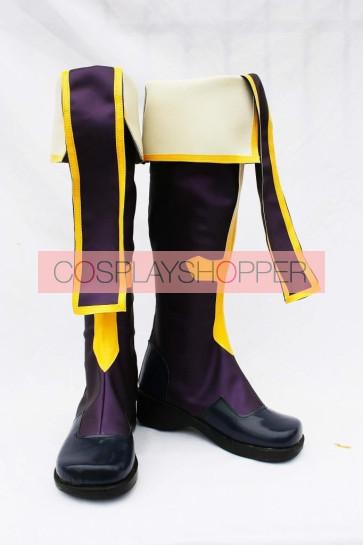 Blazblue Tsubaki Yayoi Cosplay Boots