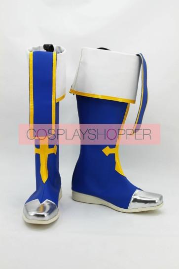 Blazblue Jin Kisaragi Cosplay Boots