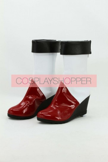 BlazBlue Litchi Faye-Ling Cosplay Boots