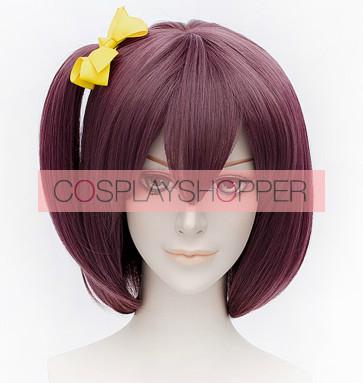 Purple 30cm Celestial Method Nonoka Komiya Cosplay Wig