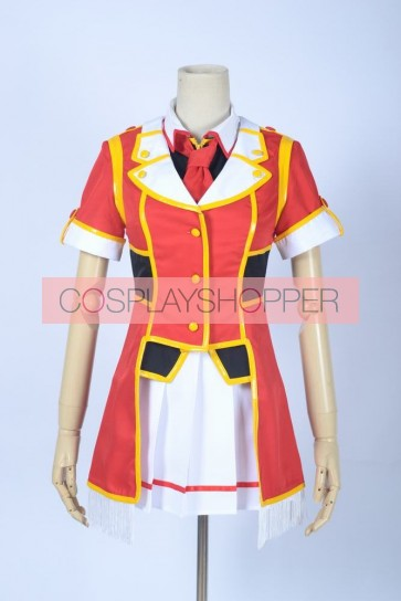 Love Live! SR Card Niko Yazawa Red Cosplay Costume