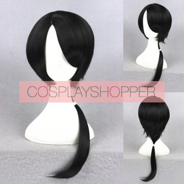 Black 45cm Touken Ranbu Kashuu Kiyomitsu Cosplay Wig