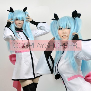 Blue Celestial Method Noel Cosplay Wig