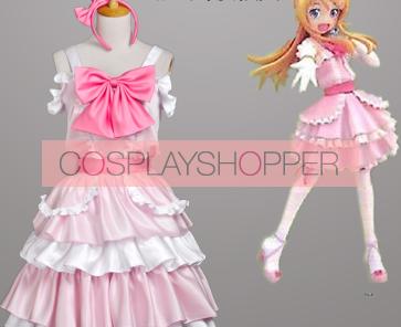 Oreimo Kirino Kosaka Pink Cosplay Dress