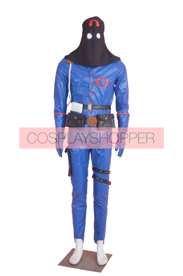 G.I. Joe:The Rise of Cobra Special Forces Commander Cosplay Costume