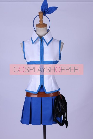Fairy Tail Lucy Heartfilia Cosplay Costume - Version 2