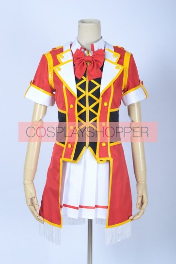 Love Live! SR Card Honoka Kosaka Red Cosplay Costume