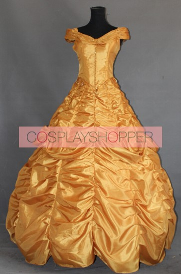 Beauty and the Beast Princess Belle Dress Cosplay Costume - B