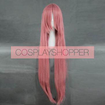 Pink 100cm Kuroko no basuke Satsuki Momoi Cosplay Wig