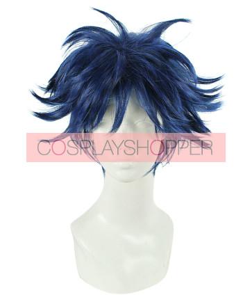 Blue 30cm Dramatical Murder Ren DMMD Cosplay Wig