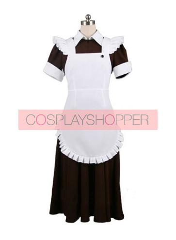 Okami-san Otsu Tsurugaya Maid Cosplay Costume