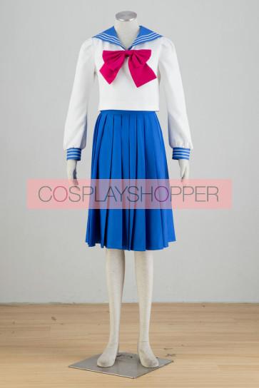Sailor Moon Serena Tsukino School Uniform Cosplay Costume
