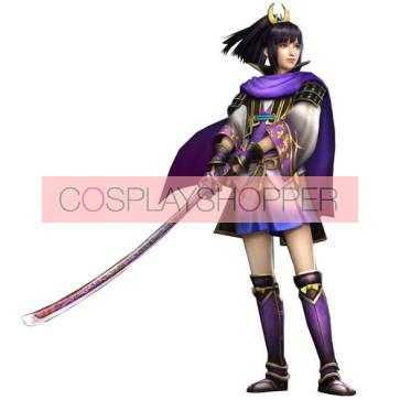 Sengoku Musou Samurai Warriors Ranmaru Mori Cosplay Costume