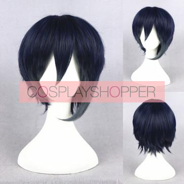 Blue 30cm Touken Ranbu Mikazuki Munechika Cosplay Wig