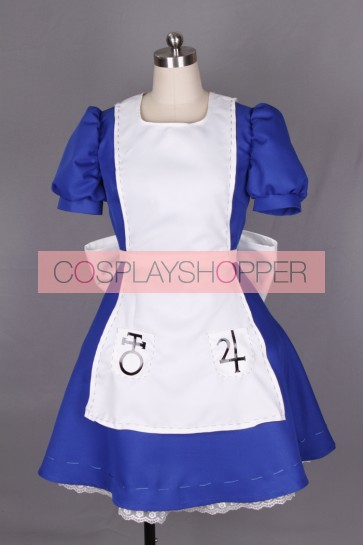 Alice: Madness Returns Alice Cosplay Costume