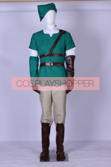 The Legend of Zelda Link Cosplay Costume - 4 Edition