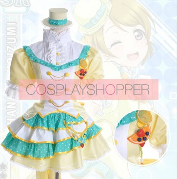 Love Live! SR Hanayo Koizumi Fruitfresh Suit Cosplay Costume