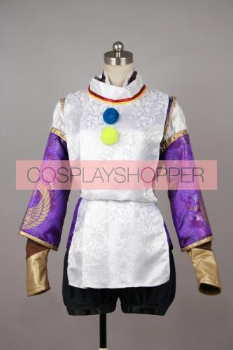 Sengoku Musou 3 Samurai Warriors 3 Ranmaru Mori Uniform Cosplay Costume