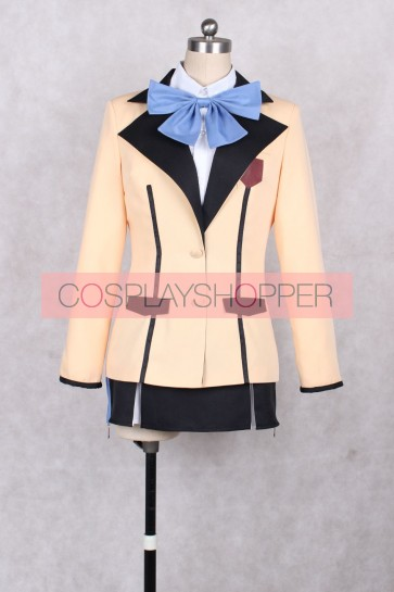 Gonna be the Twin-Tails!! Aika Tsube Tail Blue Cosplay Costume