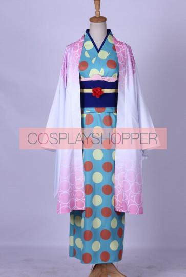 Kamisama Kiss Numano Himemiko Kimono Cosplay Costume