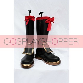 Sengoku Musou 2 Samurai Warriors 2 Kanetsugu Naoe Cosplay Shoes