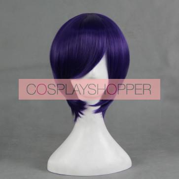 Purple 30cm Noragami Yato Cosplay Wig