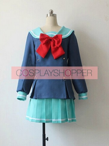 The Devil Is a Part-Timer! Chiho Sasaki Cosplay Costume