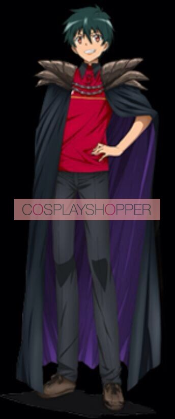 The Devil Is a Part-Timer! Sadao Maou Satan Jacob Cosplay Costume