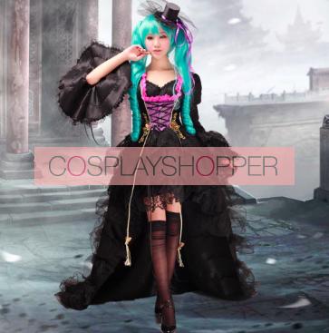 Deluxe Vocaloid Hatsune Miku Dress Cosplay Costume