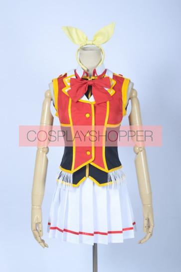 Love Live! SR Card Hanayo Koizumi Red Cosplay Costume