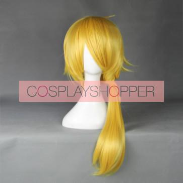 Gold 50cm Touken Ranbu Shishiou Cosplay Wig