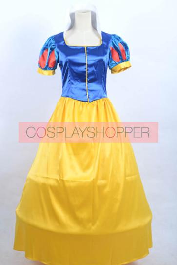 Princess Snow White Dress Cosplay Costume