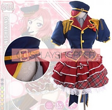 Love Live! SR Maki Nishikino Fruitfresh Suit Cosplay Costume