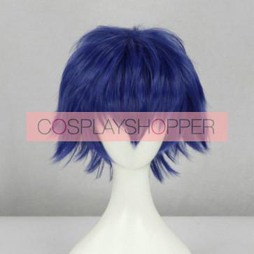 Blue 30cm Tokyo Ghoul Ayato Kirishima Cosplay Wig