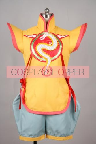 Tiger & Bunny Huang Pao-Lin Dragon Kid Cosplay Costume