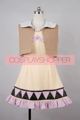 Tiger & Bunny Karina Lyle Blue Rose Uniform Cosplay Costume