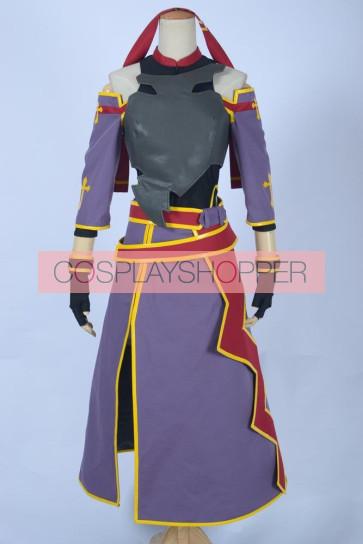 Sword Art Online ALfheim Online ALO Yuuki Konno Cosplay Costume - 2nd Edition