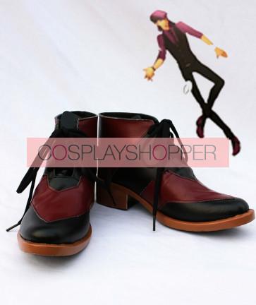 Tiger & Bunny Kotetsu T. Kaburagi Wild Tiger Black Cosplay Shoes