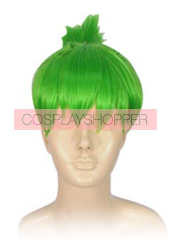 Green Tiger & Bunny Huang Pao-Lin Dragon Kid Cosplay Wig