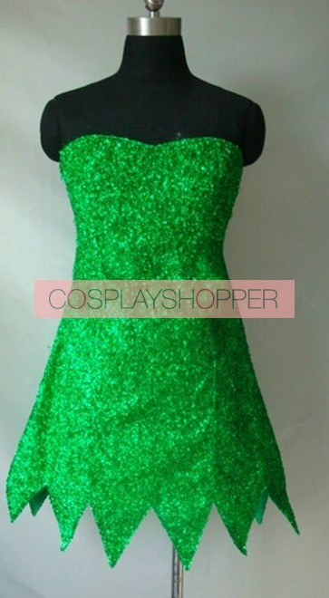 Tinker Bell and the Pirate Fairy Tinker Bell Dress Cosplay Costume