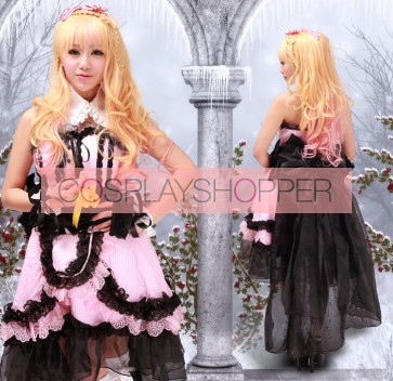 Macross Frontier Sheryl Nome Pink & Black Lolita Dress