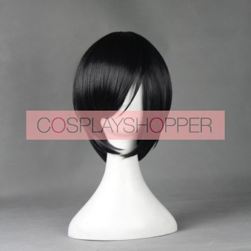 Black 30cm Touken Ranbu Yagen Toushirou Cosplay Wig