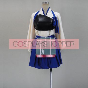 Kantai Collection KanColle Kaga Cosplay Costume