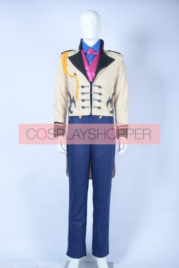 Frozen Prince Hans Cosplay Costume