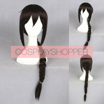 Brown 60cm Durarara!! Mairu Orihara Cosplay Wig